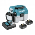 Makita 18V LXT Brushless 2 Gal. HEPA Filter Portable Wet/Dry Dust Extractor/Vacuum Kit