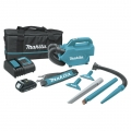 Makita 18V LXT Lithium-Ion Compact Handheld Canister Vacuum Kit (1.5Ah)