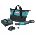 Makita 18V LXT Lithium-Ion Cordless Square Drive Ratchet Kit, 3/8 in. 1/4 in.
