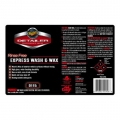 Meguiar's Secondary Label - Rinse Free Express Wash & Wax