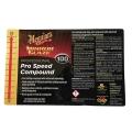 Meguiar's Secondary Label - Pro Speed Compound #100