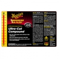 Meguiar's Secondary Label - Ultra-Cut Compound #105