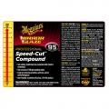 Meguiar's Secondary Label - Speed-Cut Compound #95