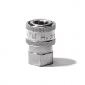 "MTM Hydro Stainless Steel Quick Connect Coupler - 1/2"" Female"