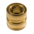"MTM Hydro Brass Garden Hose Quick Connect Coupler - 3/4"" FGH"