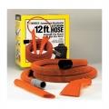 Mr. Nozzle Vac Tool Kit for Wet-Dry Shop Vacs - 12 ft. Hose