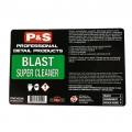 P&S Bottle Label - Blast