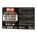 P&S Bottle Label - Water Based Dressing