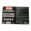 P&S Bottle Label - Water Spot Remover