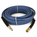 Pressure-Pro High Pressure Hose Assembly w/ Quick Connects, 4000 PSI, Blue Non Marking - 3/8 in. x 100 ft.