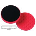 Lake Country CCS Cutback DA Foam Wax/Sealant Pad, Red - 6.5 inch
