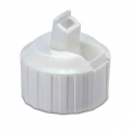 Polytop Dispensing Closure, White - 28/400 thread finish