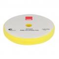 Rupes Rotary Foam Polishing Pad, Yellow/Fine - 160mm (6 inch backing)