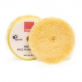 Rupes Wool Polishing Pad, Yellow/Medium - 145mm (5 inch backing)