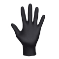 SAS Raven Powder Free Nitrile Gloves, 6 mil., Black - Medium (box of 50)
