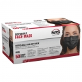SAS Black Earloop Mask (50 pack)