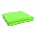 "Edgeless Dual-Pile 360 Microfiber Towel - Green - 16"" x 16"""
