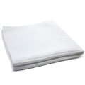 "Waffle Weave 400 Microfiber Drying Towel - White - 16"" x 16"""