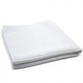 "Waffle Weave 400 Microfiber Drying Towel - White - 16"" x 16"""