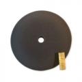 SM Arnold Speedy Black Foam Polishing Pad - 9 inch