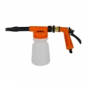 Garden Hose Foam Gun with 6 Settings, Orange