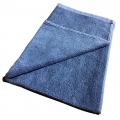 "Lint-Free Cotton Car Wash Towel - Blue - 16"" x 25"""