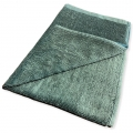"Lint-Free Cotton Car Wash Towel - Green - 16"" x 25"""