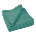 "All Purpose 380 Microfiber Terry Towel - Green - 16"" x 16"""