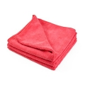 "All Purpose 380 Microfiber Terry Towel - Red - 16"" x 16"""