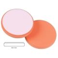 Lake Country Hydro-Tech Foam Polishing Pad, Tangerine - 6.5 inch x 7/8 inch