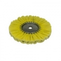 Zephyr Airway Buffing Wheel, Yellow Airway Mill Treat - 8 inch
