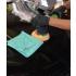 "All Purpose 380 Microfiber Terry Towel - Green - 16"" x 16"""